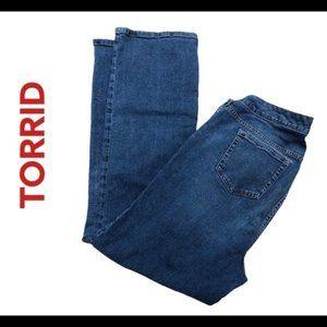 "torrid Jeans - Torrid ""Slim Boot"" cut Jeans  SHORT"